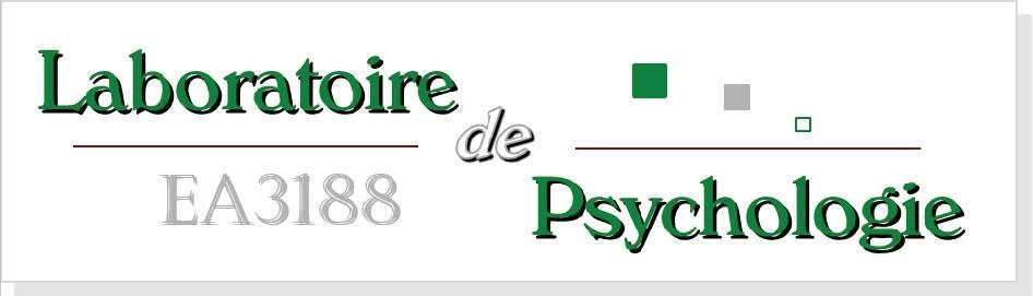 Logo du laboratoire de psychologie de Besançon